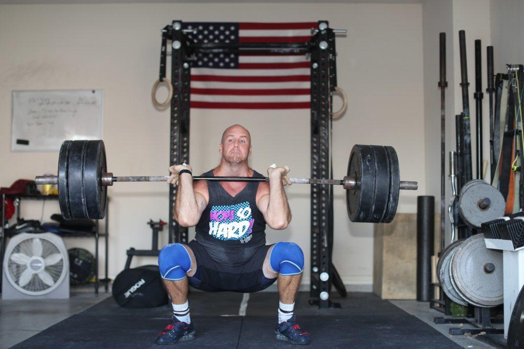 Dr. Joey Kramer lifting